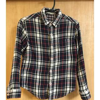 ライトオン(Right-on)のキッズ チェックシャツ(Tシャツ/カットソー)