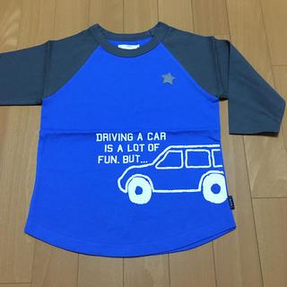 ベルメゾン(ベルメゾン)の《未使用》ベルメゾン 七分袖シャツ サイズ120(Tシャツ/カットソー)