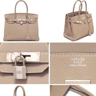 Hermes - バーキン30 エルメス トゥルティエールグレー グリトゥル 美品 シルバー金具