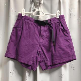 グラミチ(GRAMICCI)のGRAMICCI グラミチ ショートパンツ ハーフパンツ  紫(ショートパンツ)