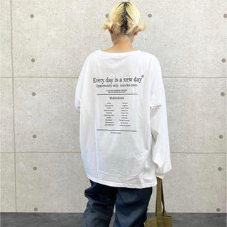 Ron Herman - 【新品タグ付き】【2020新作】天竺長袖ロゴプリントTシャツ