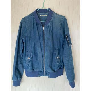 マジェスティックレゴン(MAJESTIC LEGON)のジーンズジャケット ブルー(Gジャン/デニムジャケット)