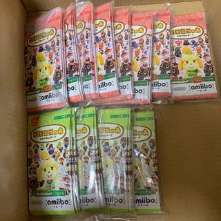 ニンテンドウ(任天堂)のどうぶつの森 amiibo  カード 未開封 まとめ売り 60パック(その他)