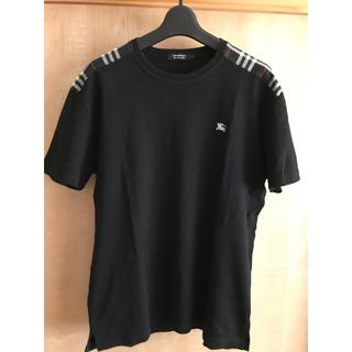 バーバリーブラックレーベル(BURBERRY BLACK LABEL)の美品☆バーバリーブラックレーベル 半袖 Tシャツ(Tシャツ/カットソー(半袖/袖なし))