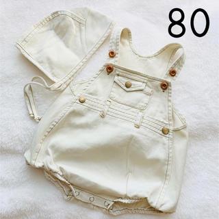 韓国子供服 オーバーオール サロペット 80