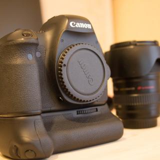 キャロン(CARON)のCanon EOS6D + EF24-105 バッテリーグリップ ショット数少(デジタル一眼)
