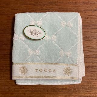 TOCCA - TOCCA  ハンドタオル ミニタオル ハンカチ   新品未使用 ブルー