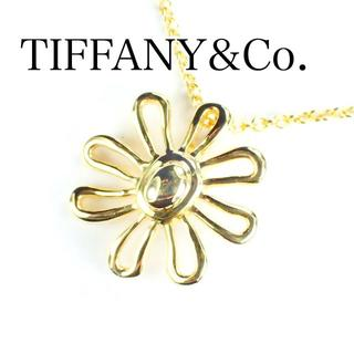 Tiffany & Co. - ティファニー TIFFANY K18YG デイジー フラワー ネックレス