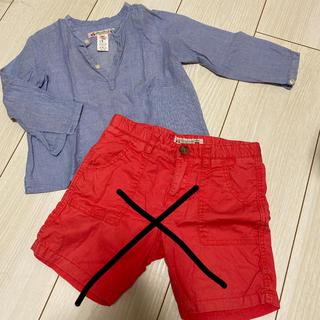 Bonpoint - Bonpoint★シャツ&ハーフパンツセット