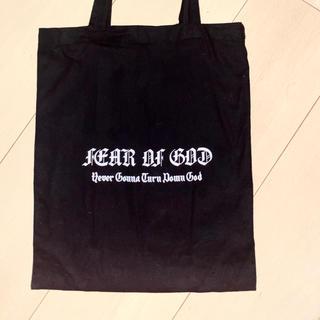 フィアオブゴッド(FEAR OF GOD)のFear of god  フィアオブゴッド(トートバッグ)