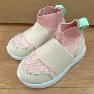 H&M - 新品 H&M キッズ スニーカー 13cm 保育園 ピンク 女の子 男の子
