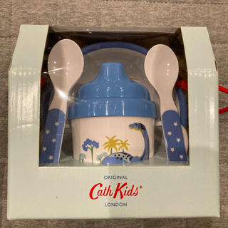 キャスキッドソン(Cath Kidston)のキャスキッドソン CathKidston 恐竜 離乳食 食器セット(離乳食器セット)