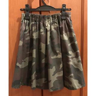 ローリーズファーム(LOWRYS FARM)の迷彩柄スカート(ひざ丈スカート)