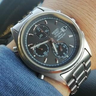 SEIKO - メンズ腕時計 SEIKO スピリット クロノ チタニウム電池新品