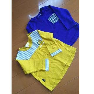 フタフタ(futafuta)のトップス  2枚  90(Tシャツ/カットソー)