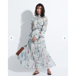 フレイアイディー(FRAY I.D)の新品 フレイアイディー スカート ハイウエストナロースカート(ロングスカート)