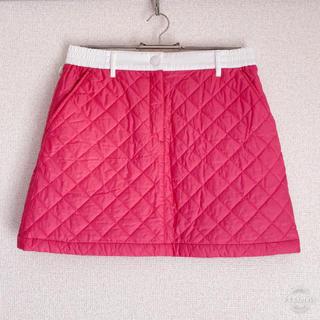 ニジュウサンク(23区)の23区ゴルフ 中綿スカート サイズ1  ピンク ゴルフ(ウエア)