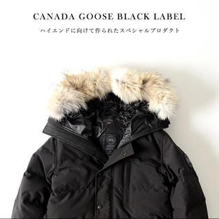 カナダグース(CANADA GOOSE)のカナダグース canadagoose カーソン ブラックラベル xs(ダウンジャケット)
