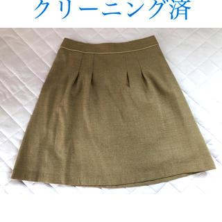 クミキョク(kumikyoku(組曲))の【クリーニング済】組曲 オフィス用秋冬スカート(ひざ丈スカート)