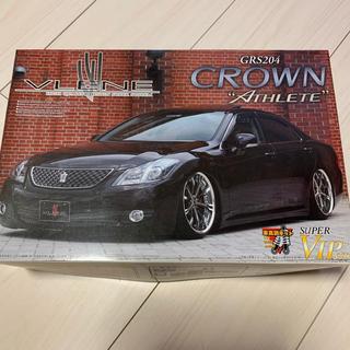 アオシマ(AOSHIMA)のアオシマ 1/24 ブレーンGRS204クラウンアスリート スーパーVIPカー(模型/プラモデル)