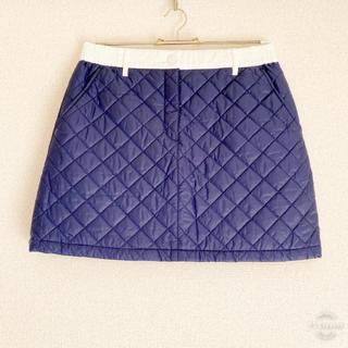 ニジュウサンク(23区)の極美品 23区ゴルフ 中綿スカート 2(ウエア)
