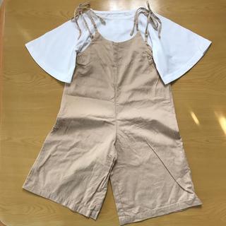 チャオパニックティピー(CIAOPANIC TYPY)のチャオパニック ティピー サロペット 半袖 Tシャツ セット (パンツ/スパッツ)