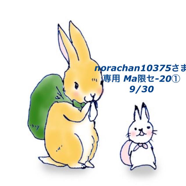 *9/30*norachan10375さま専用ページ Ma限-20① その他のその他(その他)の商品写真
