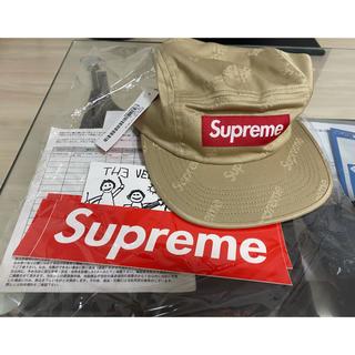 シュプリーム(Supreme)のSupreme Jacquard Logos Twill Camp Cap(キャップ)