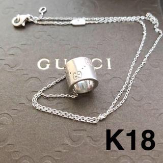 Gucci - GUCCI アイコン ネックレス K18