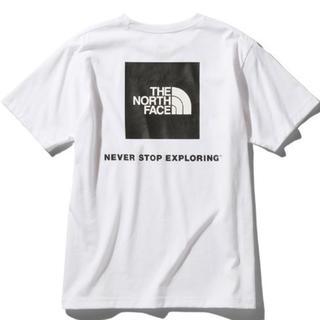 THE NORTH FACE - ノースフェイス スクエアロゴバックプリントTシャツ