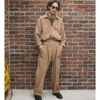 コモリ(COMOLI)のオーラリー ハードツイストギャバジンジャンプスーツ(サロペット/オーバーオール)