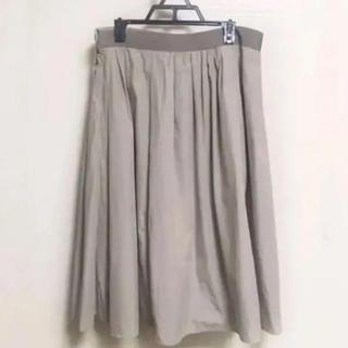 マーガレットハウエル(MARGARET HOWELL)のMARGARET HOWELL コットンスカート 2(ひざ丈スカート)