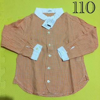 LAGOM - 110 ラーゴム 女の子 シャツ ブラウス 羽織り 春 秋