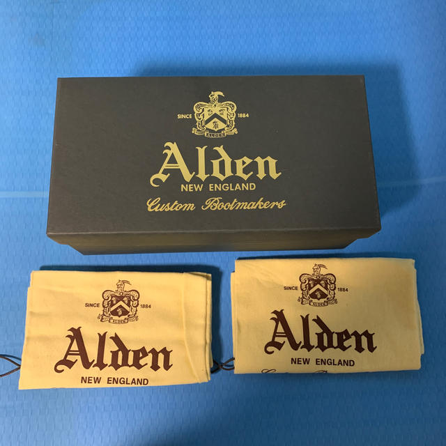 Alden(オールデン)のAlden ラング ウイング スエード シューズ メンズの靴/シューズ(ドレス/ビジネス)の商品写真