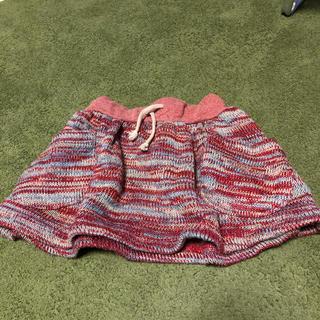 サマンサモスモス(SM2)のニットスカート 90〜100サイズ(スカート)