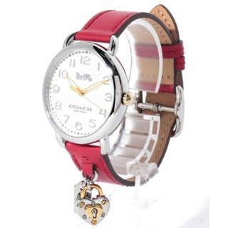 コーチ(COACH)の新品 定価6万!! COACHハートキーチャーム 腕時計 コーチ(腕時計)