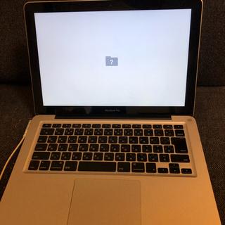 Apple - ジャンクmacbook pro 2011 メモリ 4GB HDD 320GB