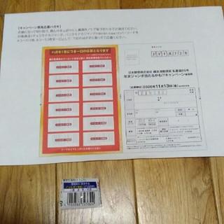 モリナガセイカ(森永製菓)の森永 チョコモナカ 懸賞応募用紙 バーコード24枚(その他)