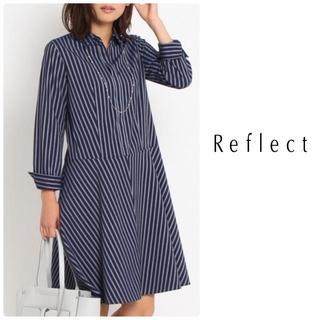 ReFLEcT - リフレクト ♡ ドビーストライプワンピース 美品