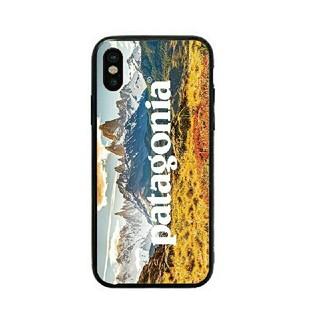 パタゴニア(patagonia)のパタゴニア ガラスケース iPhoneケース r3ch6u(iPhoneケース)