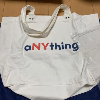 エニシング(aNYthing)のaNYthing Tote Bag トートバッグ(トートバッグ)