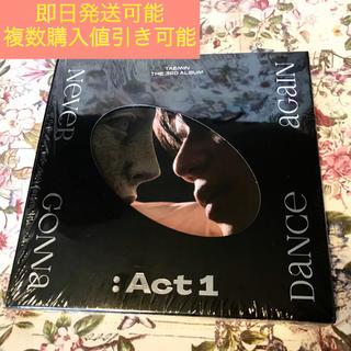 シャイニー(SHINee)のテミン CD NeverGonnaDanceAgain ACT1 TAEMIN(K-POP/アジア)