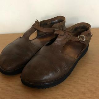 アウロラ(AURORA)のオーロラシューズ 8c 24.5〜25.0(ローファー/革靴)