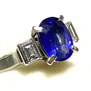 リング ⭐️ サファイア ダイヤモンド ⭐️ プラチナ900(リング(指輪))