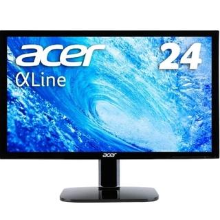 Acer - 中古 Acer モニター ディスプレイ AlphaLine 24インチ