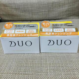 DUO(デュオ) ザ クレンジングバーム クリア(90g)」 2個セット(クレンジング/メイク落とし)