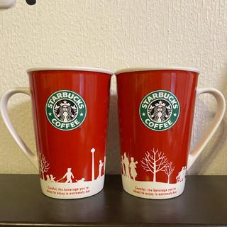 Starbucks Coffee - スターバックス ペアマグカップ クリスマス
