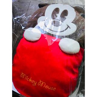 ミッキーマウス - 即完売激レア ディズニー ミッキー ぬいぐるみ リュック クッション バッグ