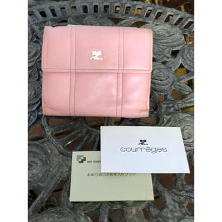 クレージュ(Courreges)の値下げ!可愛いピンクのクレージュ財布 ヴィンテージ(財布)