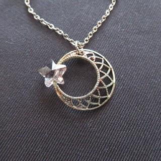 フェリシモ(FELISSIMO)の月と星のネックレス(ネックレス)